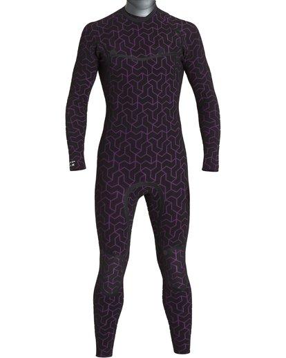 9 6/5mm Furnace Carbon Ultra Hd - Hood Neoprenanzug für Männer Schwarz Q46M01BIF9 Billabong