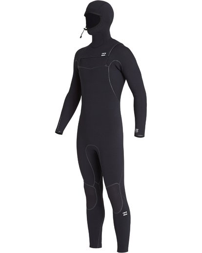 11 6/5mm Furnace Carbon Ultra Hd - Hood Neoprenanzug für Männer Schwarz Q46M01BIF9 Billabong