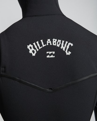 7 6/5mm Furnace Carbon Ultra Hd - Hood Neoprenanzug für Männer Schwarz Q46M01BIF9 Billabong