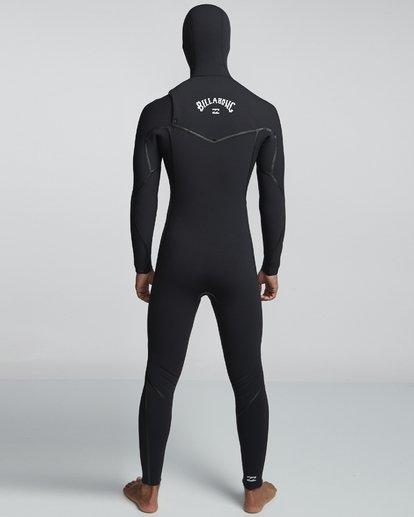 1 7/6mm Furnace Carbon Ultra Hd - Hood Neoprenanzug für Männer Schwarz Q47M01BIF9 Billabong