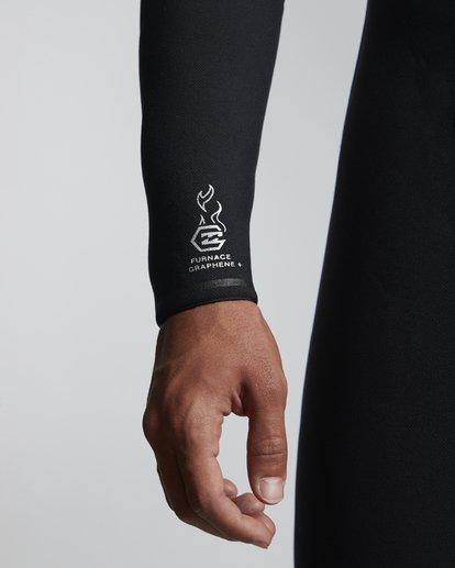 4 7/6mm Furnace Carbon Ultra Hd - Hood Neoprenanzug für Männer Schwarz Q47M01BIF9 Billabong