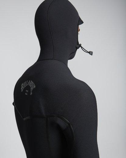 6 7/6mm Furnace Carbon Ultra Hd - Hood Neoprenanzug für Männer Schwarz Q47M01BIF9 Billabong