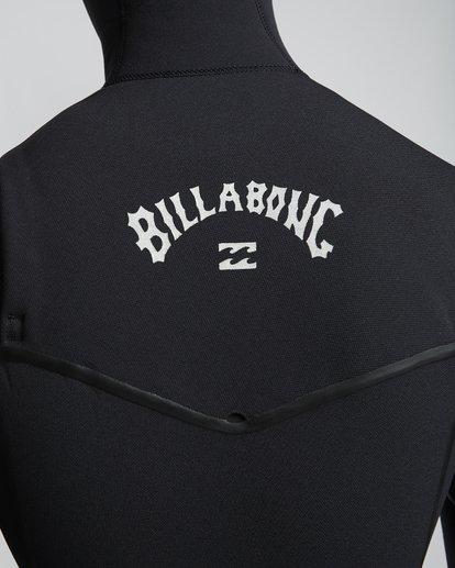 7 7/6mm Furnace Carbon Ultra Hd - Hood Neoprenanzug für Männer Schwarz Q47M01BIF9 Billabong