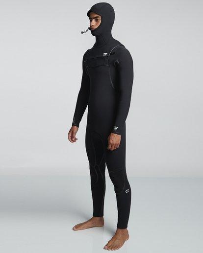 2 7/6mm Furnace Carbon Ultra Hd - Hood Neoprenanzug für Männer Schwarz Q47M01BIF9 Billabong