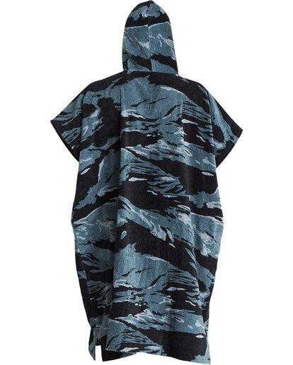 2 Hooded Poncho - Poncho mit Kapuze für Männer Schwarz Q4BR01BIF9 Billabong