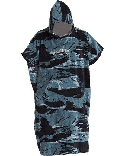 1 Hooded Poncho - Poncho mit Kapuze für Männer Schwarz Q4BR01BIF9 Billabong