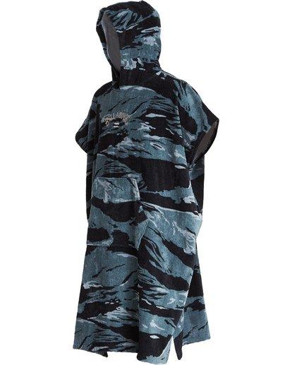 3 Hooded Poncho - Poncho mit Kapuze für Männer Schwarz Q4BR01BIF9 Billabong