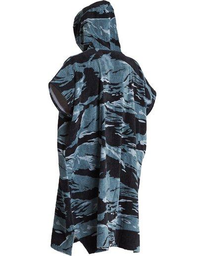 4 Hooded Poncho - Poncho mit Kapuze für Männer Schwarz Q4BR01BIF9 Billabong