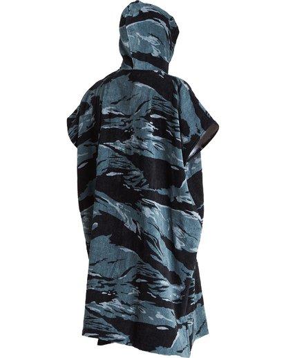 5 Hooded Poncho - Poncho mit Kapuze für Männer Schwarz Q4BR01BIF9 Billabong