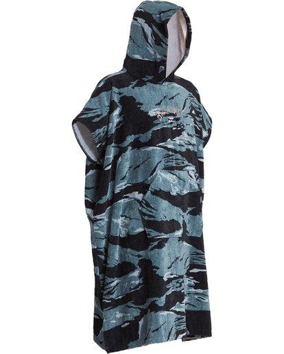 6 Hooded Poncho - Poncho mit Kapuze für Männer Schwarz Q4BR01BIF9 Billabong