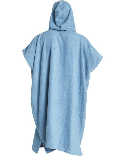 1 Hooded Poncho - Poncho mit Kapuze für Männer Blau Q4BR01BIF9 Billabong
