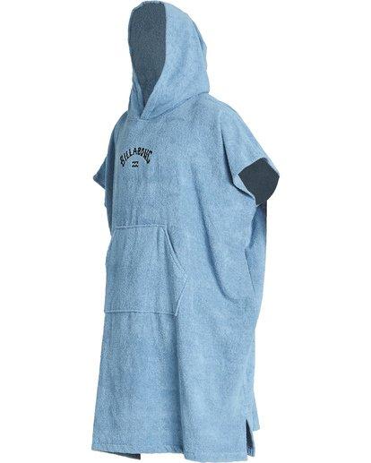 2 Hooded Poncho - Poncho mit Kapuze für Männer Blau Q4BR01BIF9 Billabong