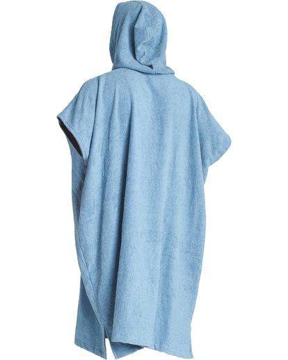 3 Hooded Poncho - Poncho mit Kapuze für Männer Blau Q4BR01BIF9 Billabong