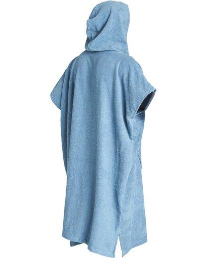 4 Hooded Poncho - Poncho mit Kapuze für Männer Blau Q4BR01BIF9 Billabong