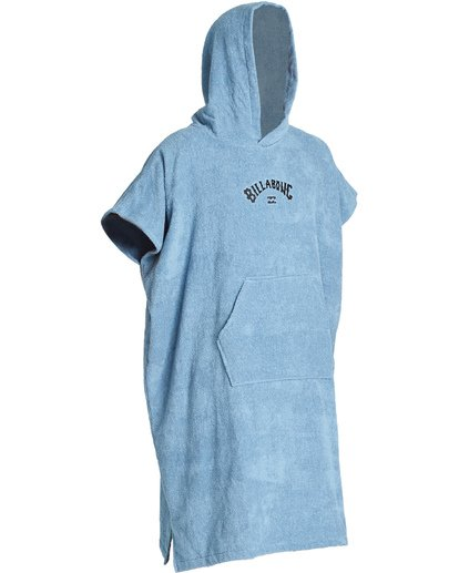 5 Hooded Poncho - Poncho mit Kapuze für Männer Blau Q4BR01BIF9 Billabong