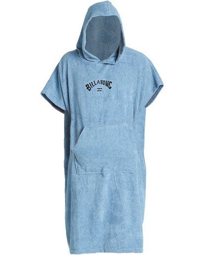 6 Hooded Poncho - Poncho mit Kapuze für Männer Blau Q4BR01BIF9 Billabong
