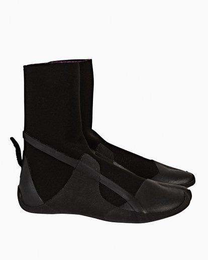 1 5mm Furnace Syn - Split Toe Booties für Frauen Schwarz Q4BT21BIF9 Billabong
