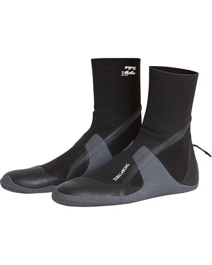 0 3mm Furnace Absolute - Round Toe Boot for Men Black Q4BT32BIF9 Billabong
