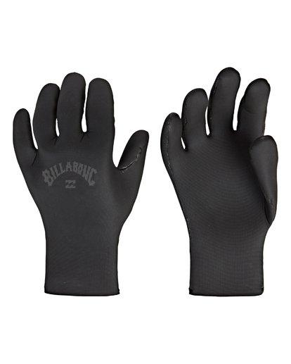1 2mm Absolute - 5 Finger Handschuhe für Jungen Schwarz Q4GL11BIF9 Billabong
