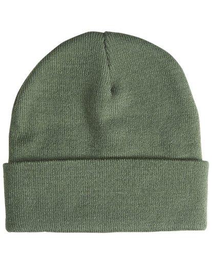 3 Stacked - Bonnet pour Homme Vert Q5BN01BIF9 Billabong