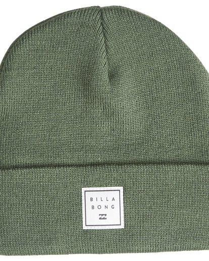 2 Stacked - Bonnet pour Homme Vert Q5BN01BIF9 Billabong
