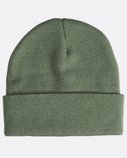 1 Stacked - Bonnet pour Homme Vert Q5BN01BIF9 Billabong