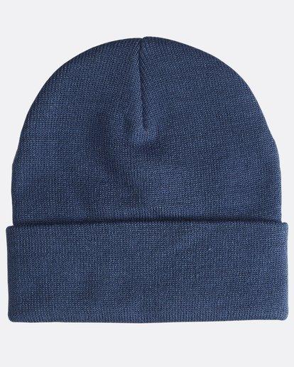1 Stacked - Beanie for Men Blue Q5BN01BIF9 Billabong