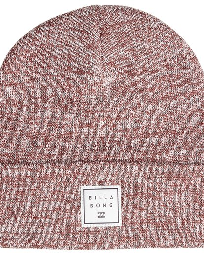 2 Stacked Heather - Gorro Jaspeado Stacked para Hombre  Q5BN02BIF9 Billabong