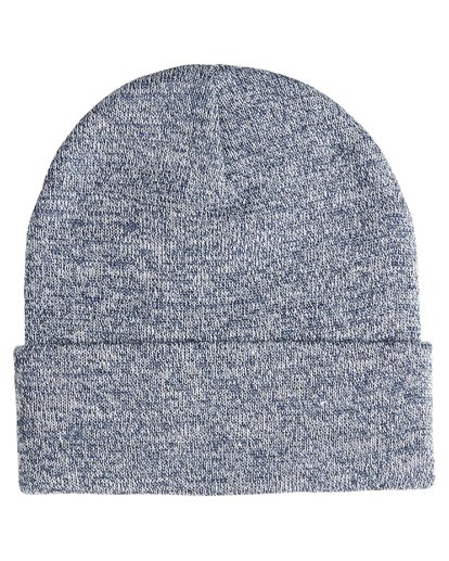 3 Stacked Heather - Beanie für Männer Blau Q5BN02BIF9 Billabong