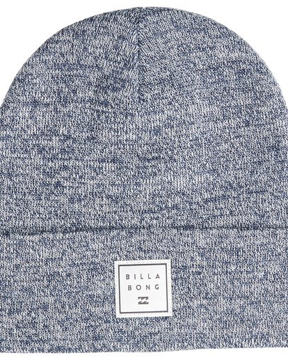 2 Stacked Heather - Beanie für Männer Blau Q5BN02BIF9 Billabong