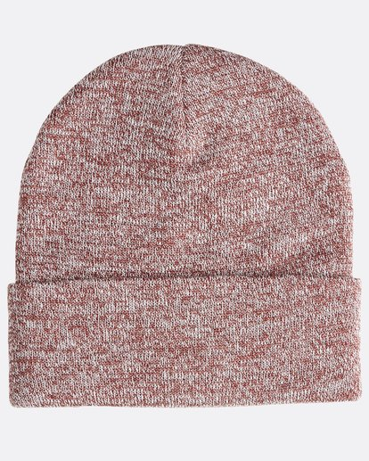 1 Stacked Heather - Gorro Jaspeado Stacked para Hombre  Q5BN02BIF9 Billabong