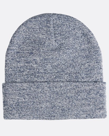 1 Stacked Heather - Beanie für Männer Blau Q5BN02BIF9 Billabong
