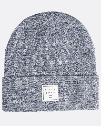 0 Stacked Heather - Beanie für Männer Blau Q5BN02BIF9 Billabong