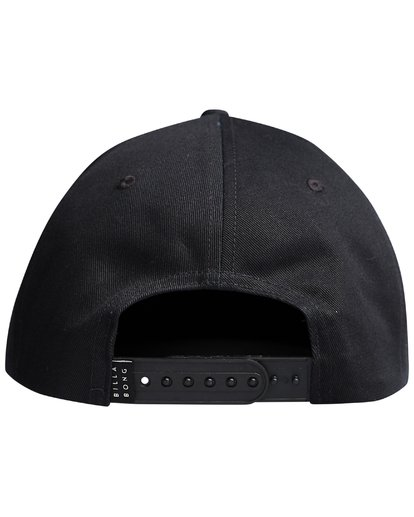 5 Walled - Snapback Cap for Men Black Q5CM01BIF9 Billabong