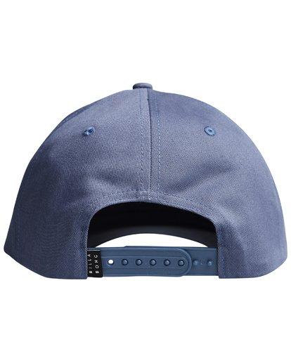 5 Walled - Snapback Cap für Männer Blau Q5CM01BIF9 Billabong