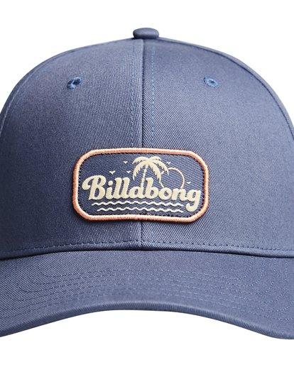 4 Walled - Snapback Cap for Men Blue Q5CM01BIF9 Billabong