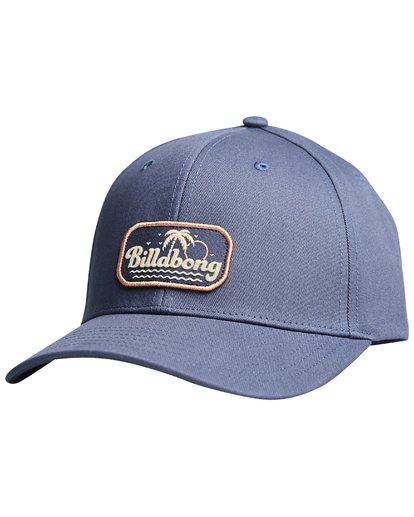 6 Walled - Snapback Cap for Men Blue Q5CM01BIF9 Billabong