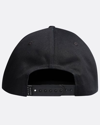 1 Walled - Snapback Cap for Men Black Q5CM01BIF9 Billabong