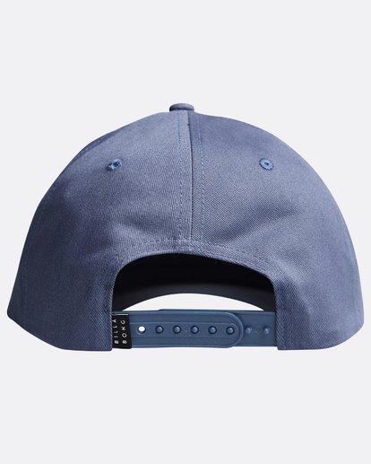 1 Walled - Snapback Cap für Männer Blau Q5CM01BIF9 Billabong