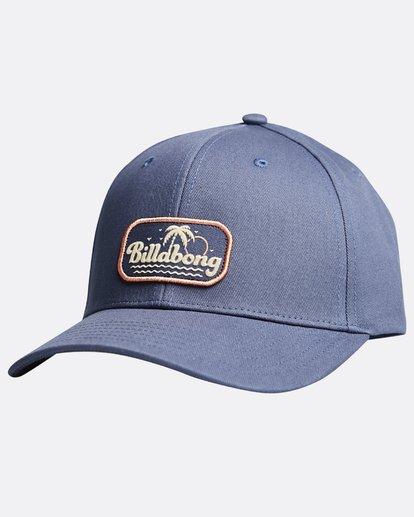 3 Walled - Snapback Cap für Männer Blau Q5CM01BIF9 Billabong