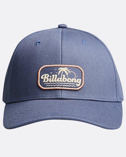 0 Walled - Snapback Cap for Men Blue Q5CM01BIF9 Billabong