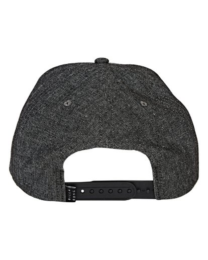 5 Stacked Up - Snapback Cap für Männer Grau Q5CM02BIF9 Billabong