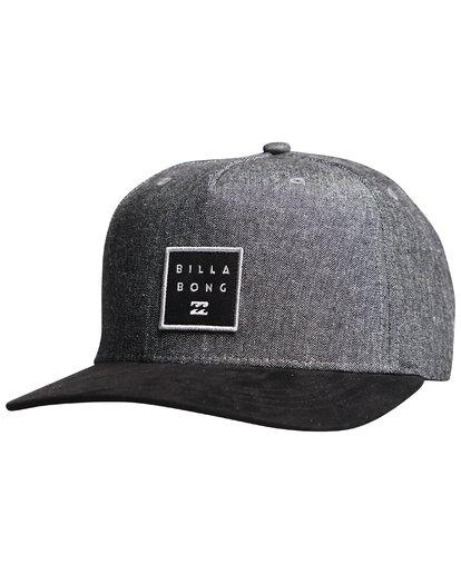 7 Stacked Up - Snapback Cap für Männer Grau Q5CM02BIF9 Billabong