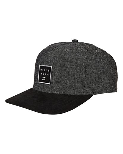 6 Stacked Up - Snapback Cap für Männer Grau Q5CM02BIF9 Billabong
