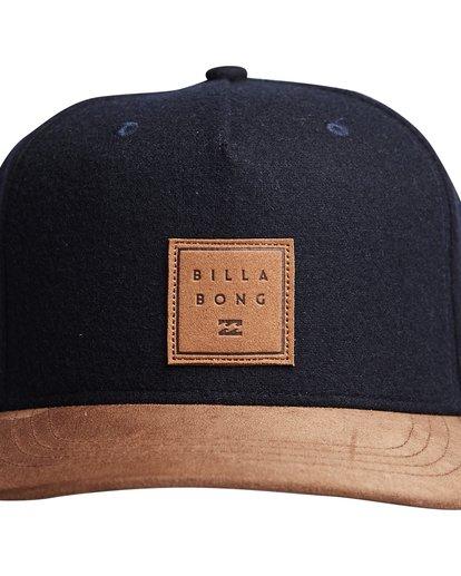 4 Stacked Up - Snapback Cap für Männer Blau Q5CM02BIF9 Billabong