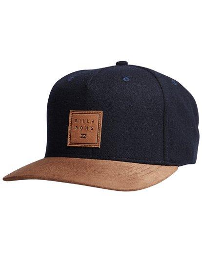6 Stacked Up - Snapback Cap für Männer Blau Q5CM02BIF9 Billabong