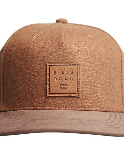 4 Stacked Up - Snapback Cap for Men  Q5CM02BIF9 Billabong