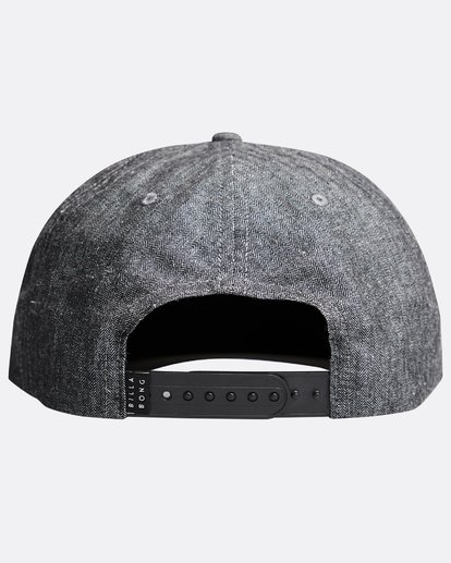 1 Stacked Up - Snapback Cap für Männer Grau Q5CM02BIF9 Billabong