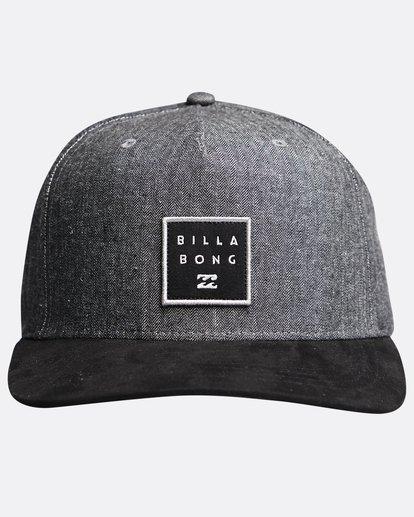 0 Stacked Up - Snapback Cap für Männer Grau Q5CM02BIF9 Billabong