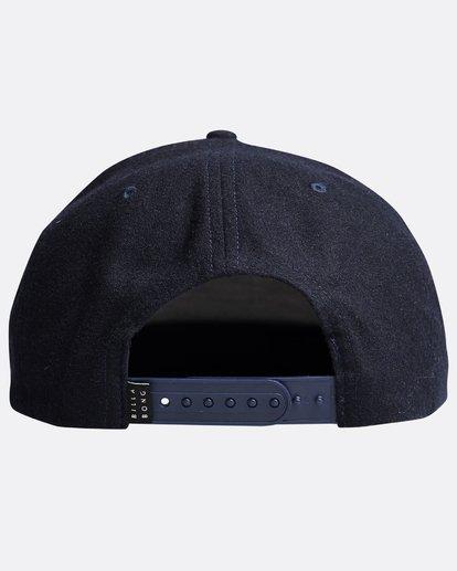 1 Stacked Up - Snapback Cap für Männer Blau Q5CM02BIF9 Billabong